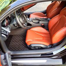Audi R8 Custom Alcantara Carbon Fiber Floor Mats Bespoke Individual