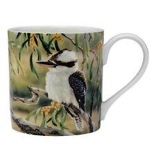 Australia Bird Flora Kookaburra & Wattle New Fine China Mug Cup Gift Box