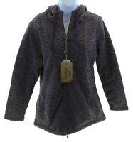 Stillwater Womens Purple Faux Fur Lined Hooded Jacket Winter Size Small