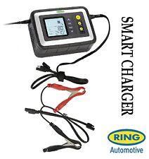 Ring Smart Intelligent Battery Charger 12v Car Lead Acid Gel Calcium AGM RSC608