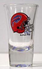 """BUFFALO BILLS - Football Helmet Design - SHOT GLASS SHOOTER ( 3 1/2"""" TALL )"""