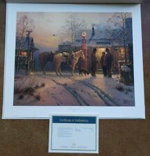G. Harvey THE WARMTH OF FRIENDSHIP Print w/ COA 714/1500 Limited Edition 1996