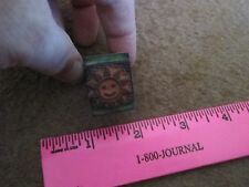 Smiling Sunshine Stamp Small Tiny Stamper Happy Vintage Collectible