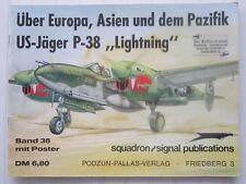 "squadron/signal publications / US-Jäger P-38 ""Lightning""    en allemand"