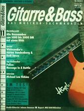 Gitarre & Bass 1990/11 (Adrian Vandenberg & Rudi Sarzo)