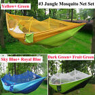 Portable Travel Camping Garden Parachute Nylon Hammock Outdoor Hanging Swing Bed