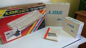 Atari 65XE - Najm - Home Computer Arabic & English very Rare (PAL) Vintage Boxed