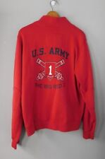 """US Army 1st Infantry Division """"The Big Red One"""" Light Coat or Jacket Sz L"""
