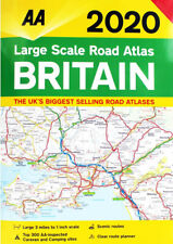 AA Large Scale Road Atlas Map Britain 2020 Latest Edition (81527)