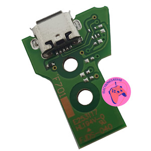 New Replacement PS4 Playstation 4 Controller Pad Micro USB Charge Port JDS-040