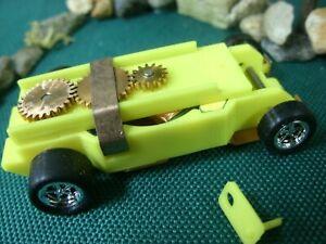 Dash Motorsports Classic Tjet chassis--3 Lam 16 Ohm arm--Ceramic magnets 4.5