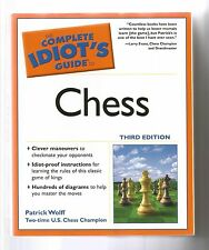 NEW The Complete Idiot's Guide To Chess by Patrick Wolff (2005, Paperback)