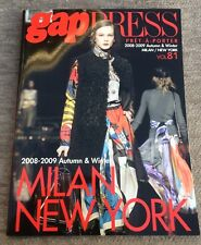Gap Press Magazine 81 2008-2009 Winter Pret-A-Porter Fashion Milan New York