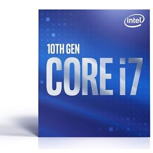 Intel Core i7-10700F Desktop Processor - 8 cores And 16 threads - Up to 4.8 GHz