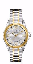 Bulova Women's 98L166 Two Tone Quartz Stainless Steel Dress  Watch