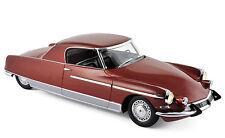 Modello Auto 1:18 CITROEN DS 19 Chapron le Dandy 1964 ROSSO METALLIZZATO NOREV 18001b_1