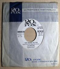 Al Martino – Darling I Love You 45 RPM 7 Inch Single VG+ 20th Fox Records 45-153