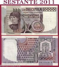 ITALIA ITALY 10.000 10000 LIRE BUSTO D'UOMO CASTAGNO 1978 P 106a FDS/UNC  4 FORI