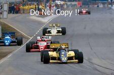 Alessandro Nannini Minardi M185B Australian Grand Prix 1986 Photograph