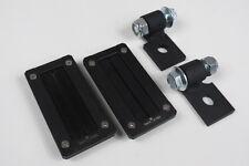 Polaris RZR Xp 1000 / RZR 900 Billet Harness Bezel & Mounting Kit (Black)
