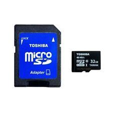 Toshiba 32GB microSDHC Memory Card
