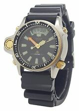 Vintage Citizen Aqualand JP2004-07E Divers C023 Promaster Depth Gauge 200M Watch