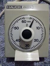 Hauck eletric Timer per ingranditore fotografico ENLARGER TIMER