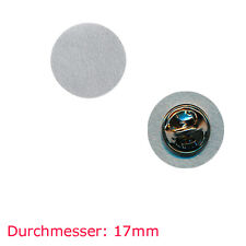 10 Pin Rohlinge 17 mm - Neu - Blankopins Metall Button Badge Pin Anstecker 0810
