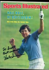 HALE IRWIN US OPEN GOLFER SPORTS ILLUSTRATED autographed signed