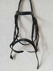 Pony Black Bridle