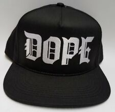 DOPE Couture M.O.B Snapback Black White Hat