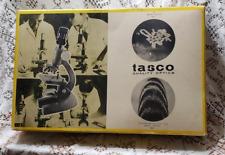 Tasco Vintage Deluxe Zoom Microscope Kit 750XKZ #970-5 (1966) *Incomplete*