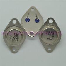 10 pares 2SB554 2SD424 nuevo transistor TO-3