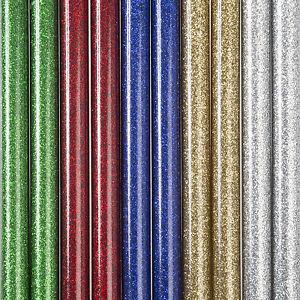 Hot melt Glitter Glue Sticks 11.5mm - 12mm X 200mm, Pack Of 5 (240-12 CP05)