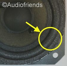 4x Foam surrounds for speaker repair woofer Bang & Olufsen C75, CX100 + 1x glue