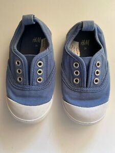 H&M Baby Boys Casual Shoes Size 7.5 Blue