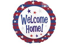 """Welcome Home 18"""" Balloon Birthday Party Decorations"""