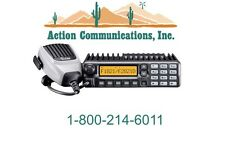 NEW ICOM IC-F2821D-23, UHF 400-470 MHZ, 45 WATT, 256 CH ANALOG TWO WAY RADIO