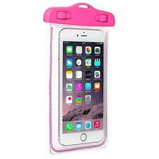 Pro-tec Active Waterproof Ipx8 Pouch Case Cover for Universal Smartphones- Pink
