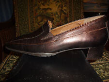 Theresia M, Dress Shoe, LILLY, Bronze Leather Women Size 8 1/2 Medium