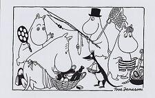 Moomin IMMAGINE POSTER 24 x 30 cm da TOVE JANSSON ILLUSTRAZIONI pesca Trip