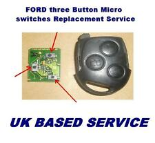 Ford Mondeo Focus Fiesta  Puma Remote Key Fob Repair