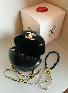 CHANEL authentic Pearl stone ball shoulder Bag VIP LIMITED EDITION Dubai 2016