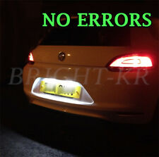 2x VW SCIROCCO NUMBER PLATE XENON 6000K WHITE LED LIGHT BULBS UPGRADE