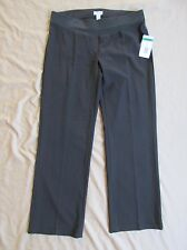 New with Tags Women's Three Seasons Brown Maternity Dress Pants US Size Large
