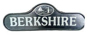 Berkshire Street Sign Cast Iron Beach Coastal Marker Lighthouse Nautical Sea