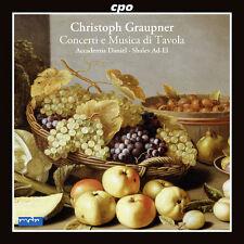 Graupner / Accademia - Concerti E Musica Di Tavola [New CD]