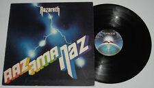 UK Pressing NAZARETH Razamanaz LP Record