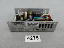 Condor GPFM115-24 24V 4.8A Power Supply