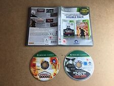 Splinter Cell Double Agent Rainbox Six Double Pack  - Microsoft Xbox 360 UK PAL